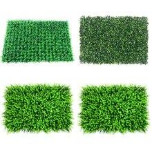 40x60cm Wedding Decoration Grass Mat Green Artificial Plant Lawns Landscape Carpet for Home Garden Wall Fake