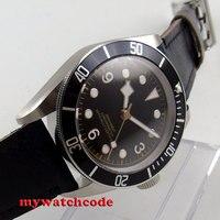 41 ミリメートル corgeut ブラック滅菌ダイヤルサファイアガラス御代田自動メンズ腕時計 P72