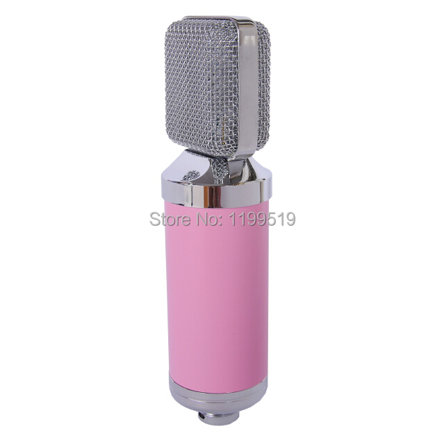 Большой диафрагмой конденсаторный микрофон площади металла глава запись микрофон