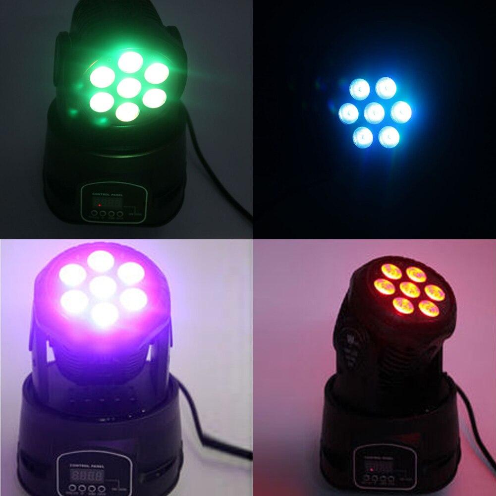 Commercial Lighting Vktech Mini Led Projector Cob Voice Control Stage Light Dj Disco Ktv Party Club Atmosphere Lamp Eu Plug Sturdy Construction