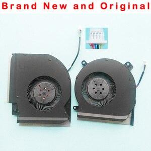 Image 1 - New original cpu gpu cooling fan for Asus ROG GL504GS fan cooler