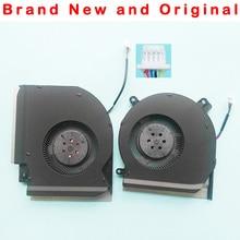 Novo original cpu gpu ventilador de refrigeração para asus rog gl504gs ventilador cooler