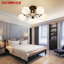 купить Modern LED Ceiling Lights lamparas led de techo moderna For Kitchen Living room luminaire plafonnier Ceiling Lamp Lighting дешево