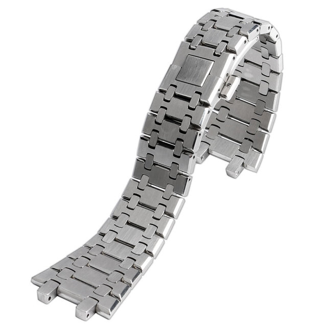hq for ap watch replacement silver wrist band strap 2 spring bars