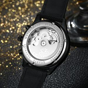 Image 5 - AILANG Luminous Men Sports Automatic Watches Self Wind Calendar Wrist watch Workable 3 Eyes 6 Hands Analog Relojes 3ATM NW7202