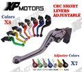 Motorcycle CNC Adjustable Short Brake Clutch Lever For Kawasaki Ninja 400R 2011 650R ER-6F ER-6N 09-16 Versys 650 09-14 NEW