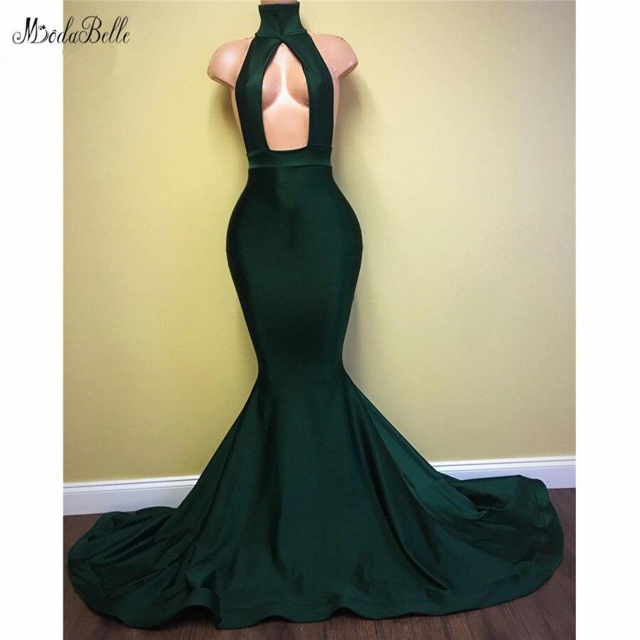 modabelle Mermaid   Prom     Dresses   2019 Abiti Da Cerimonia Da Sera Off Shoulder Dark Green   Prom     Dress   Vestidos Compridos