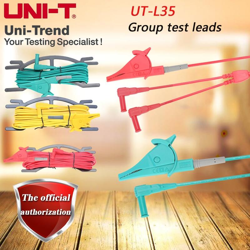 все цены на UNI-T UT-L35 combination test line UL approved wire for UT521, UT522, UT572 онлайн