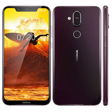 Global Version Nokia 8.1 TA-1119 4G LTE Mobile Phone 6.18