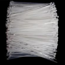 1000pcs 3*60/80/100/120/150 мм фиксированные для обвязки пластмассовой лентой, самозажимная нейлоновая стропа в виде галстука-бабочки и обвязки ремни для проводов