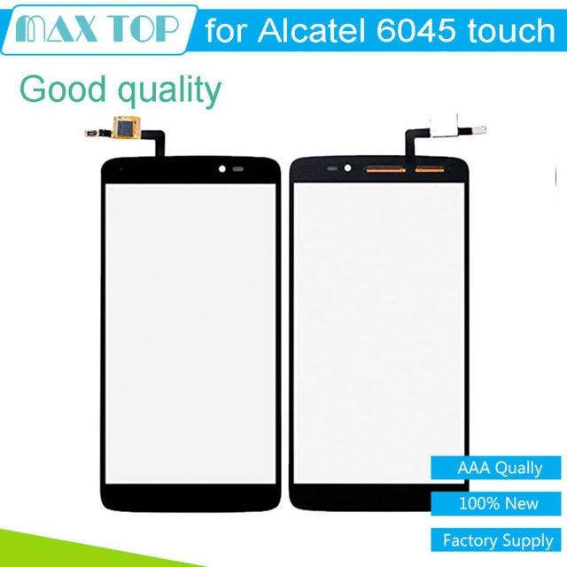 5.5 ''дюймовый Для Alcatel One Touch Idol 3 6045 Touch экран OT6045 6045 К 6045Y 6045B 6045I Сенсорный Экран на Передней Панели Планшета стекла