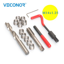 Repair-Tool-Set Wire Coil Helical Thread Stainless-Steel M14x1.25mm 15pcs Insert-Combination