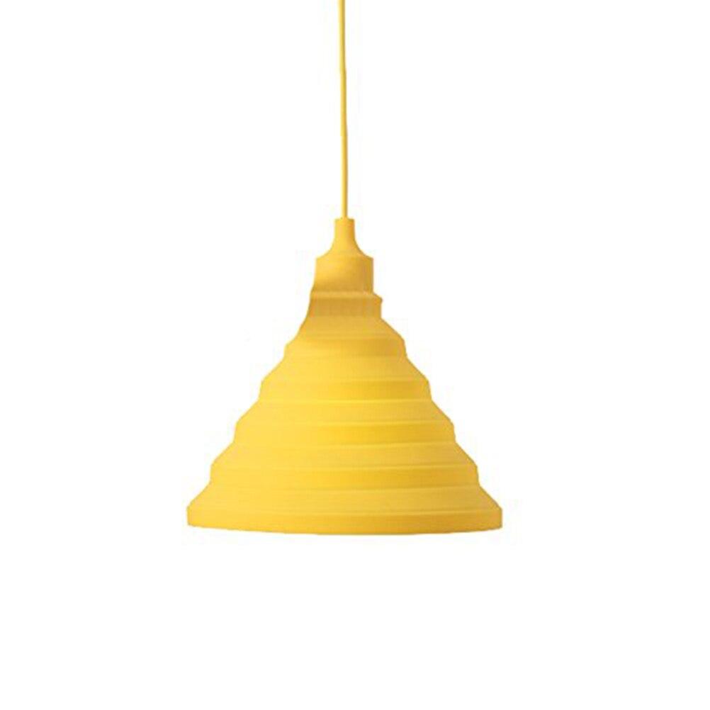 e27 220v modern simple colorful silicone pendant lights fashion diy design color children bedroom restaurant pendant cheap diy lighting