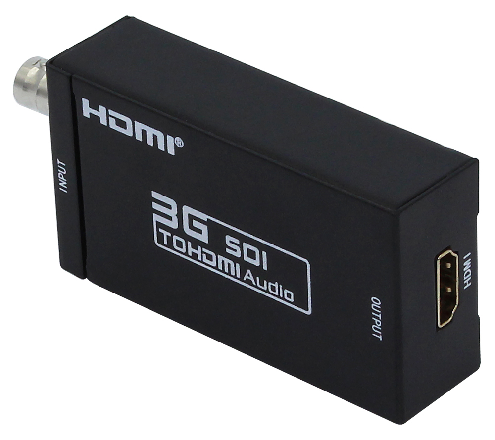 1 Piece Mini 3G SDI to HDMI Video Audio Converter Adapter & DC 5V 1A Adapter UK Plug or US Plug or eu Plug