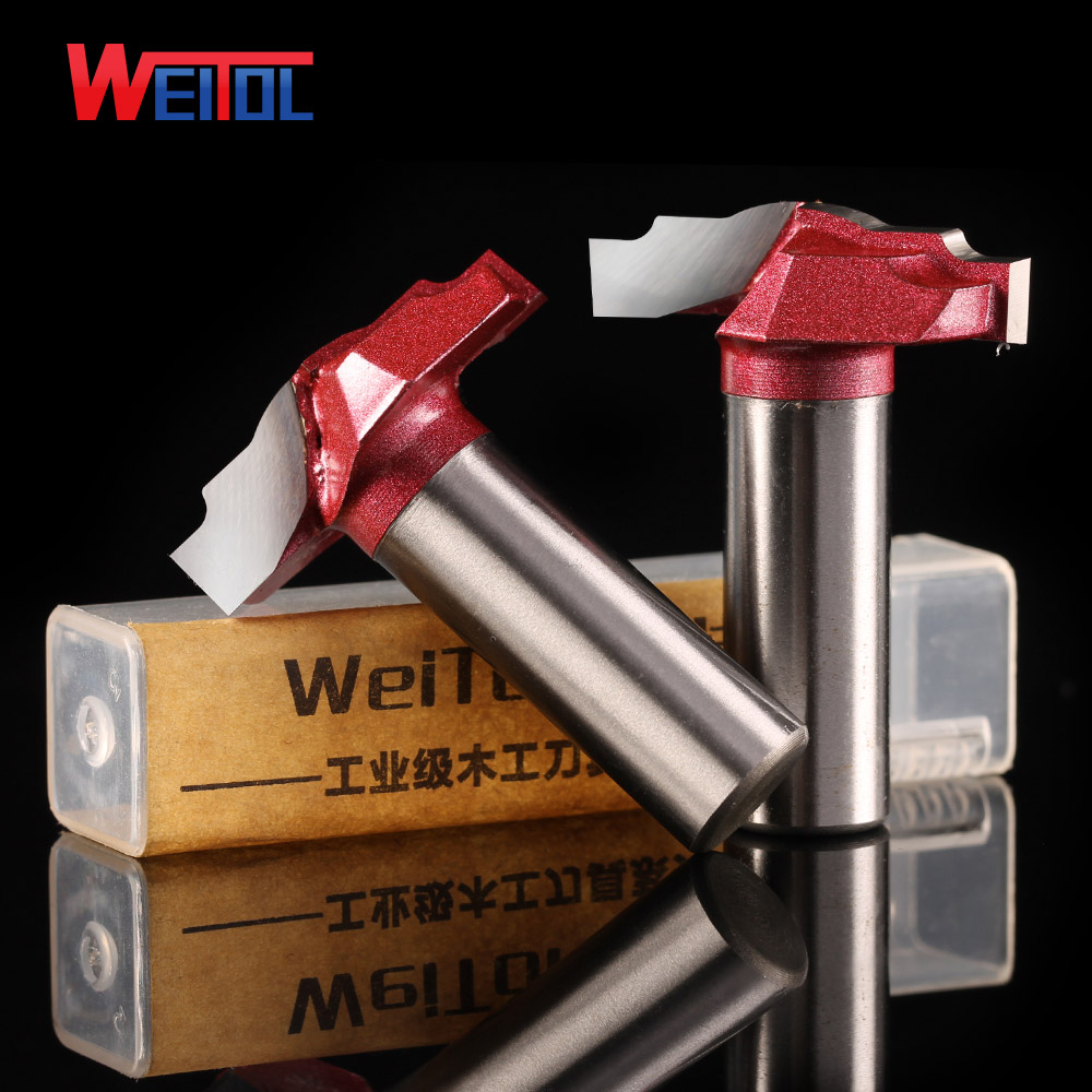 Weitol 1pcs 1/2*35mm solid carbide Classical plunge router bits Door Sheet Patterns wood carving tool
