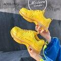 AOJILONG 2019 кроссовки женские беговые кроссовки, воздух сетчатая переноска для небольших животных подушки кроссовки спортивные женские беговы...