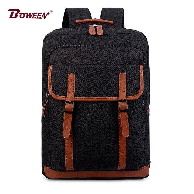 8d4b36c50dc5 canvas men School Backpack Schoolbag boys College bag Preppy Style School  bags girls Preppy Style women bookbag Backpack