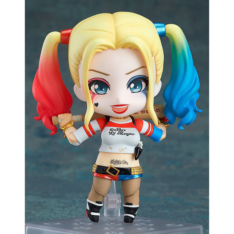 New Suicide Squad The Joker Female Harley Quinn 672 Suicide Edition Nendoroid Doll PVC Action Figure Collectible Model Toys the sandman vol 2 the doll s house new edition