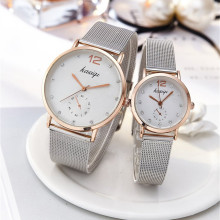 Stainless Steel Rhinestone Couple Watches Man And Ladies 2019 Luxury Quartz Wris