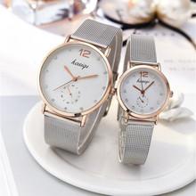 Stal nierdzewna Rhinestone zegarki dla par mężczyzna i panie 2019 luksusowy zegarek kwarcowy dla miłośników Unisex zegarek Montres Femme Hot tanie tanio 20mm QUARTZ 22cm ROUND Nie wodoodporne Szkło Moda casual Klamra Brak Nie pakiet STAINLESS STEEL 38mm DOBROA