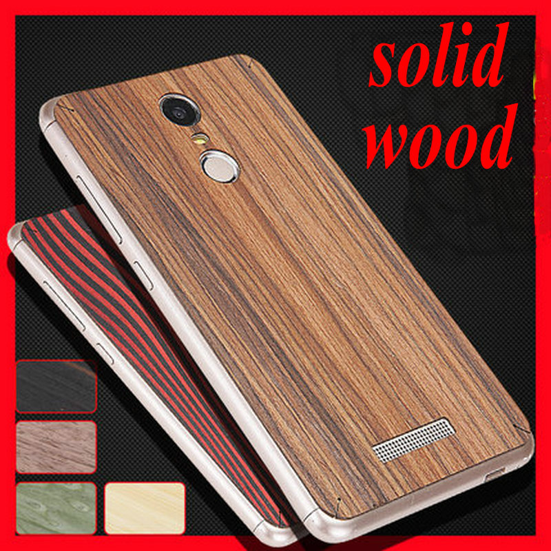 best sneakers d5e9e 7ae4b US $6.99 |Original Xiaomi Redmi Note 3 Retro Solid Wood Back Cover case For  xiaomi note 3 Phone Real Wooden Sticker case +HD Screen film on ...