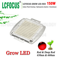 High Power LED Chip 150W Deep Red 660nm 630nm Diode COB Plant Growth Hydroponics Tent For