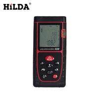 HILDA High Percision Digital Laser Range Finder Portable Laser 40/60/80M Distance Measurer Mini Laser Rangefinder
