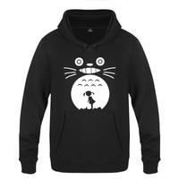 Tonari no Totoro Hoodie Cotton Winter Teenage Cute Totoro Sweatershirt Pullover Hoody With Hood For Men Women