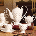 11 шт.  Европейский высококачественный костяной китайский набор кофейных чашек  рыбные весы  кофейная чашка  блюдце  чайная чашка для полудня...
