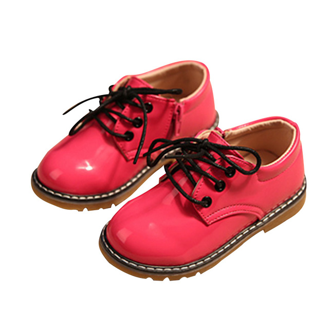 2017 New Original Brand Spirng Autumn Children's Sneakers Brand Kids PU Solid Color Girls Boys Fashion Shoes 3 Color