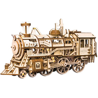Creative DIY Laser Cutting 3D Mechanical Model Wooden Puzzle Game Assembly Toy Gift for Children Teens Adult wooden toys