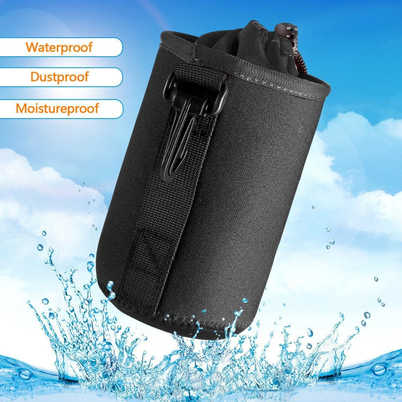 Waterproof Universal Neoprene Soft Video Camera Lens Pouch Bag Case Full Size For Canon Nikon Sony