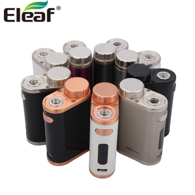 Original E Cigarette Eleaf IStick Pico 75W Box Mod Vape Fit For Melo 3 Or Melo III Mini Tank E-Cigarettes Vaporizer