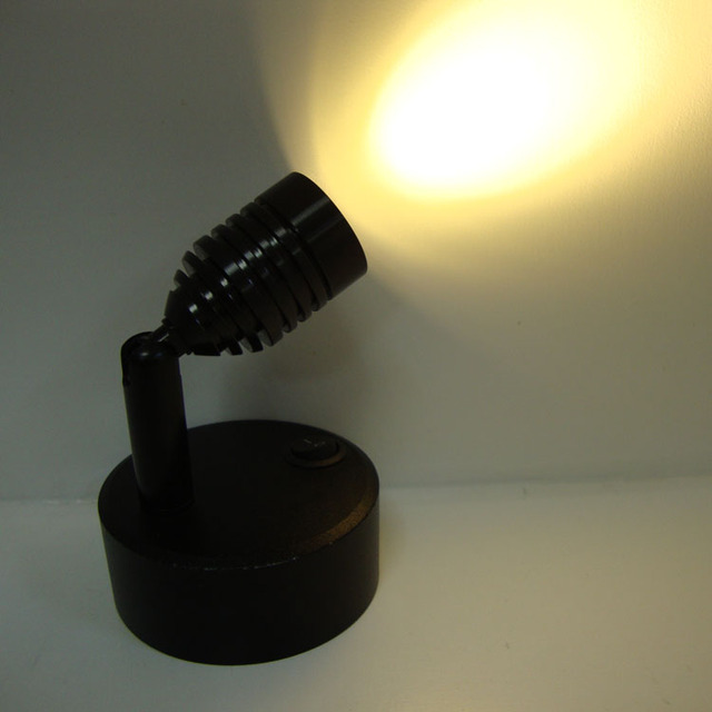 Batería de la lámpara LED Escaparate de La Joyería exposición de fondo lámpara de pared y lámpara de emergencia lámpara de escritorio sin energía inalámbrica