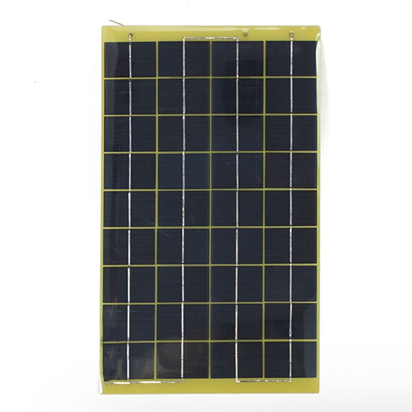 Portable 12V 10W Epoxy Resin Poly Transparent Solar Panel Diode Universal for Charge Battery Sun Engergy Power DIY 36x22x0.2cm