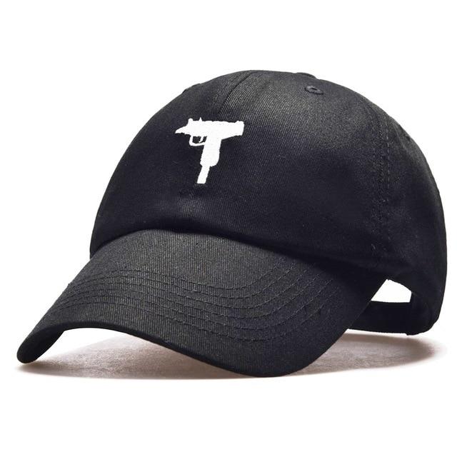 New Fashion 2017 Top selling Uzi Gun Baseball Cap US Ak47 Snapback Cap Hip  hop Hat e0780c705e59