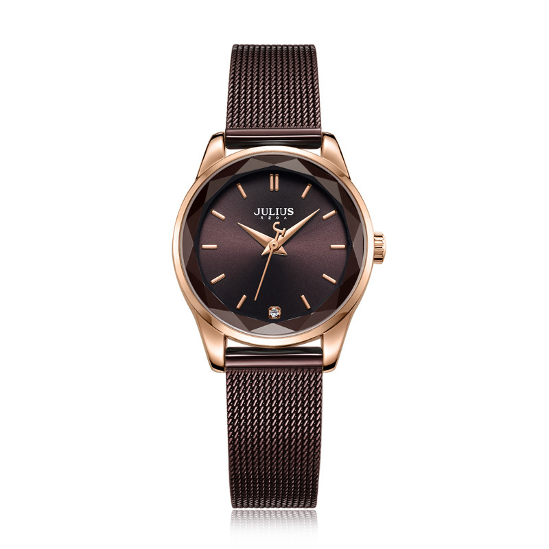 5 Colors Top Women's Watch Miyota Quartz Lady Hours Fine Fashion Clock Bracelet Stainless Steel Girl's Birthday Gift Julius Box julius lady women s watch japan quartz couple hours fine fashion clock stainless steel band girl birthday lovers gift box