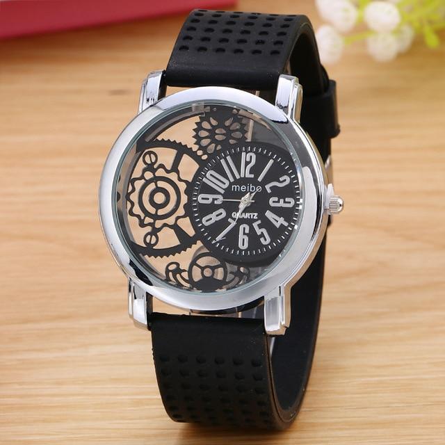 Fashion Silicone Rubber Watch Casual women's slim watches Quartz Watch Relogio Feminino 2019 Clock Hot Selling