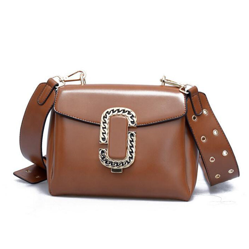 Compare Prices on Wide Leather Shoulder Strap Bag- Online Shopping ...