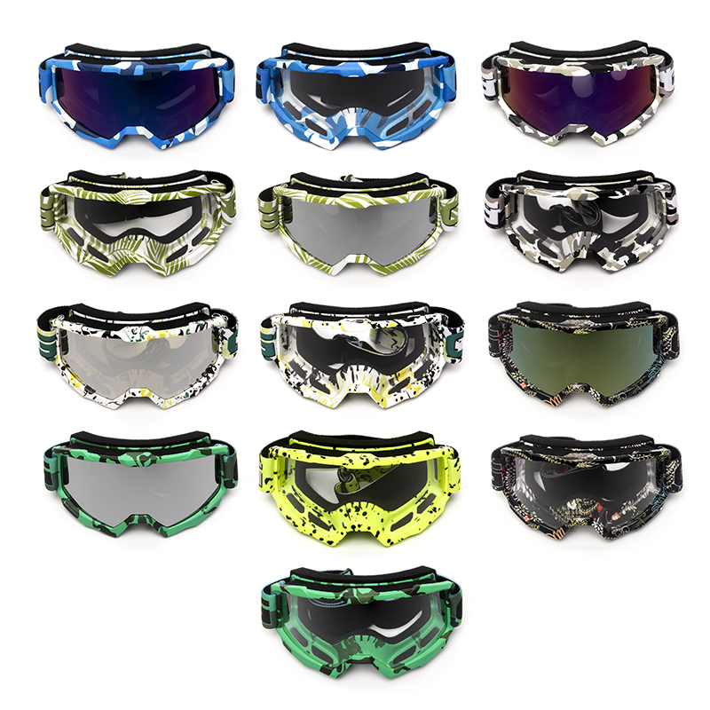 Triclicks New Protective Gears Glasses Motorcycle Motocross Ski Goggle ATV Dirt Bike UTV Goggles Accessories