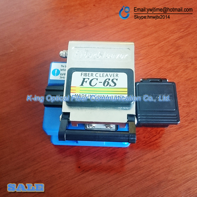High Precision Fiber Cleaver Optic Connector FC-6S fc6s Optical Fiber Cleaver,Used in FTTX FTTH Free Shipping,Metal material