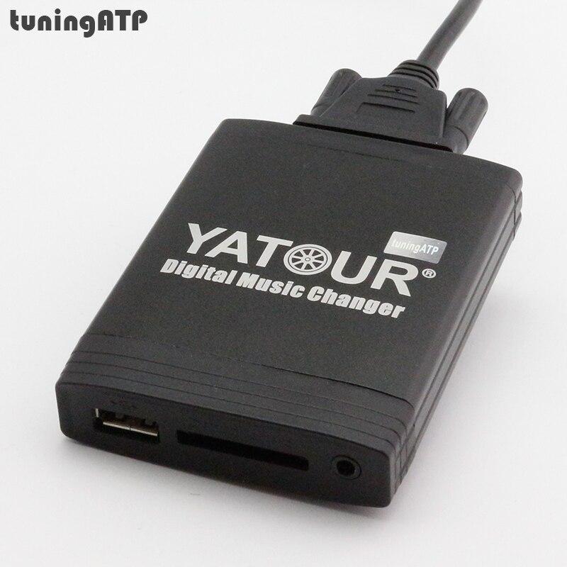 YATOUR Digital Music Changer AUX SD USB MP3 Adapter For Volvo Radio: SC-series Radio / CR-905 / CR-906