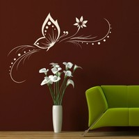 Beautiful Butterfly Removable Wall Stickers Home Decor Vinyl Decal Art Mural Wall Poster Paper Free Shipping