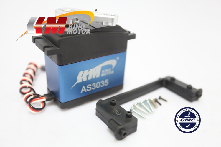 1/5 scale AS3035 35kg High Torque All Metal Gear Steering Servo Fits HPI Baja 5b, 2.0, SS 5b flux, 5t, 5sc, Buggies and trucks amazing high torque and high end servo fast powerfull waterproof ideally designed to use in r c cars