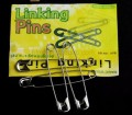 Free shipping Linking pins magic pins magic tricks props