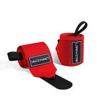 Weight Lifting Wrist Support Wraps with Thumb Loop Gym Elasticated Straps for Crossfit Strength Training Powerlifting