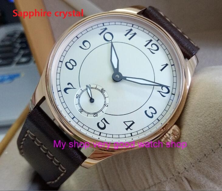 Sapphire Crystal 44mm PARNIS white dial Asian 6498/3621 Mechanical Hand Wind movement men's watch Mechanical watches RNM10 44mm parnis white dial asian 6498 3621 mechanical hand wind movement men s watch mechanical watches rnm9