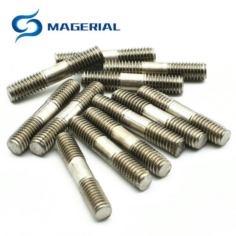 4pcs M5 pure titanium allen screw hex socket knurled bolt TA2 Ti cap head bolts