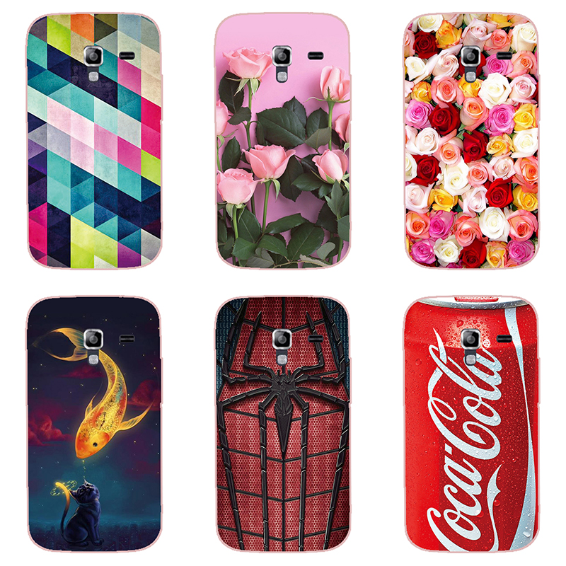 fashion style phone case colour  shell For Samsung GALAXY Ace 2 i8160 Hard plastic Phone Case colorful painting  skin shell
