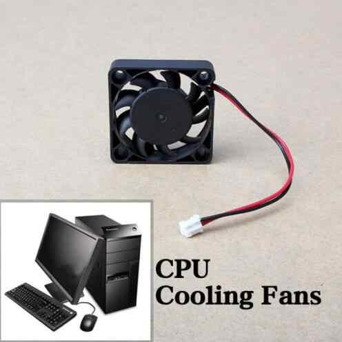 Высокое качество 12 В 2 Pin 40 мм кулер для компьютера небольшой охлаждающий вентилятор PC черный F теплоотвод ABS материал мини размер вентиляторы